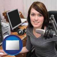 colorado a female radio announcer